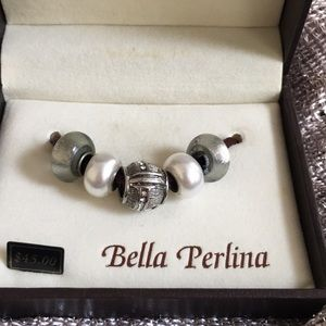 Bella Perlina Bracelet accent pieces